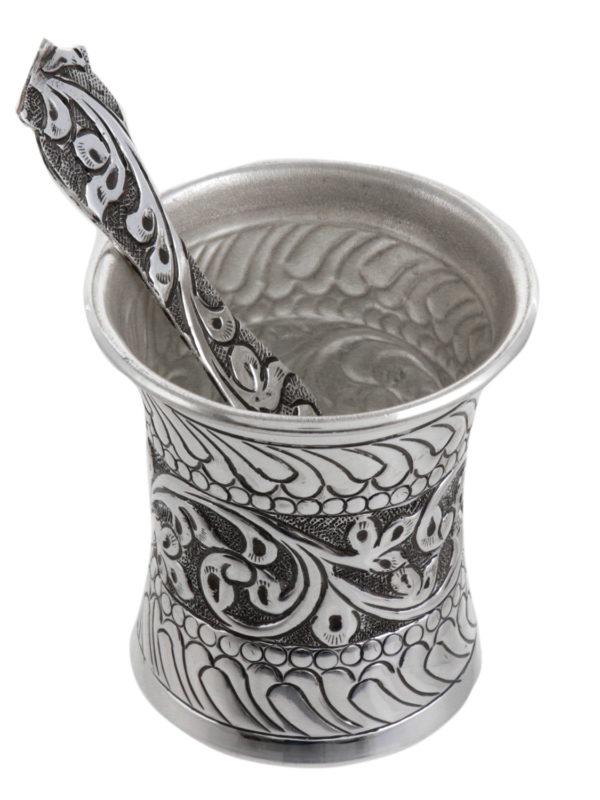 Silver Panchamrut Pot 11