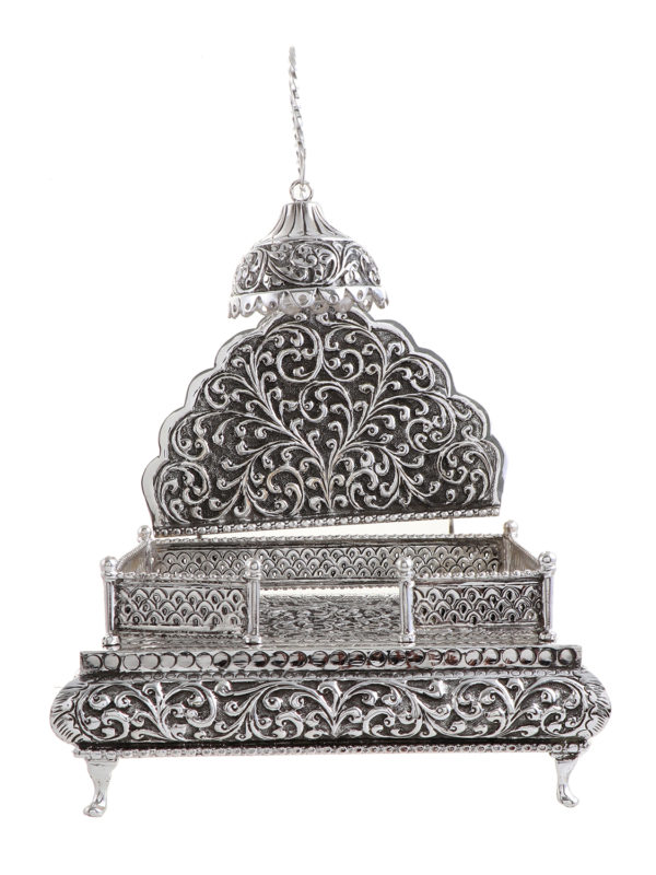 Silver Singhasan 14