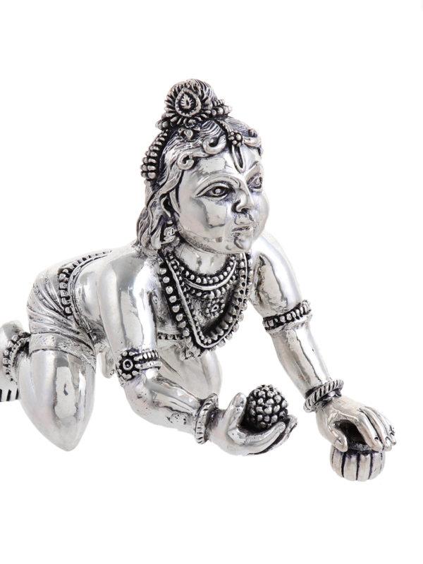 Silver Laddu Gopal 10
