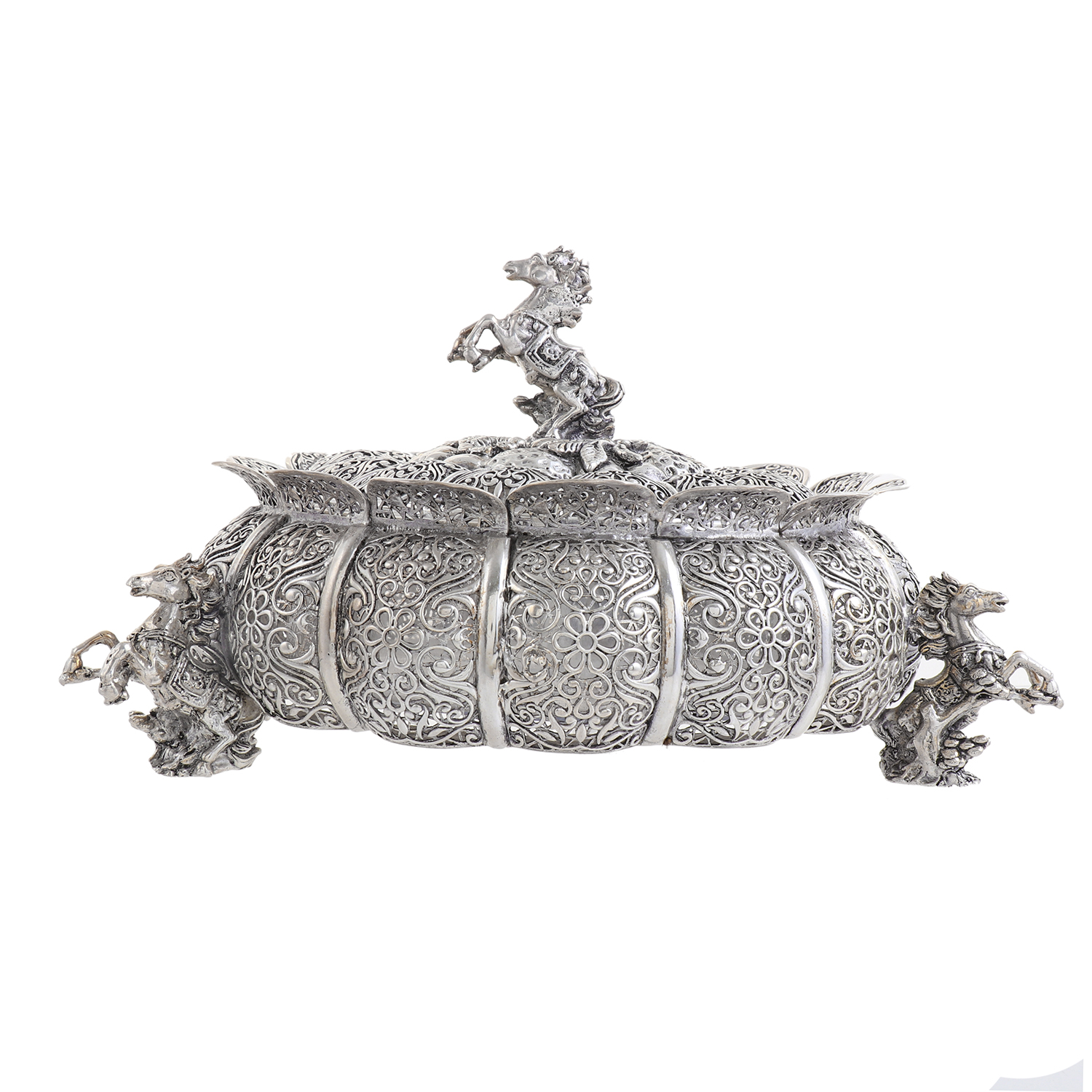 Sterling Silver Dry Fruit Box 2