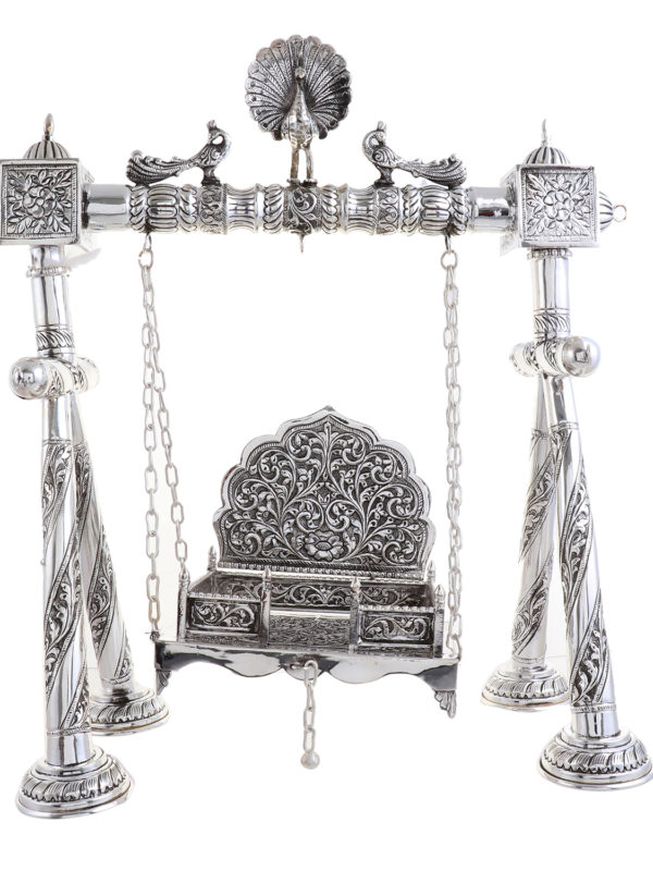 Silver Swing for Laddu Gopal 12