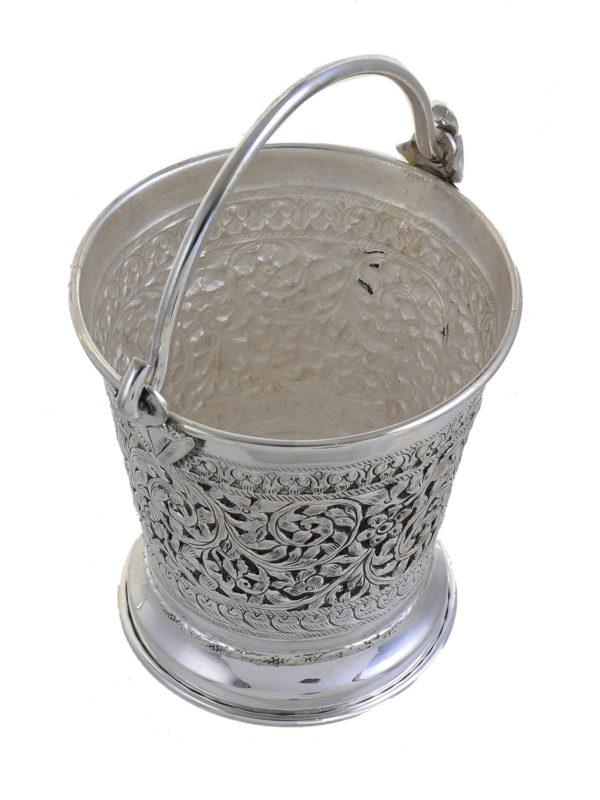 Silver Bucket 6