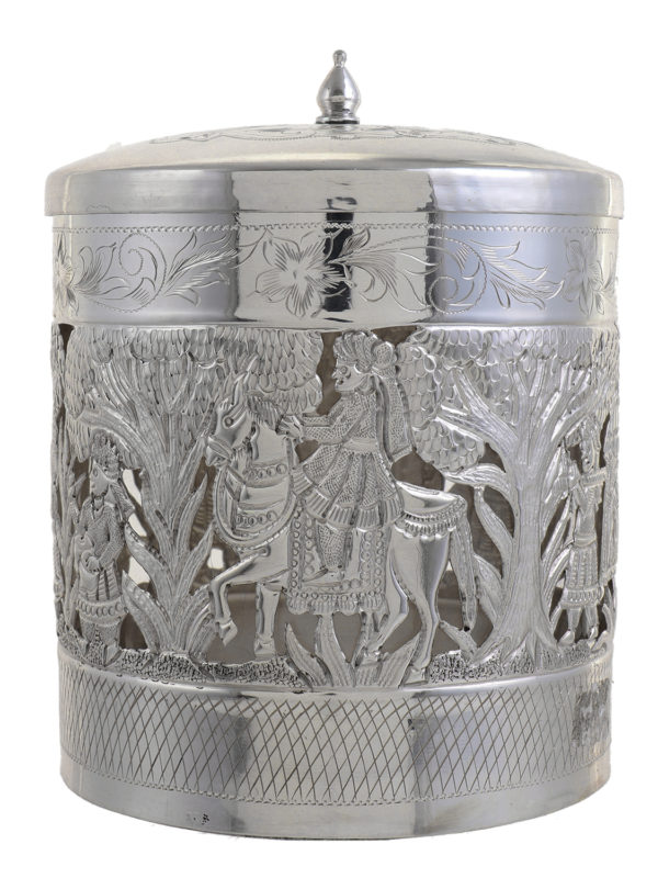 Silver Container 9