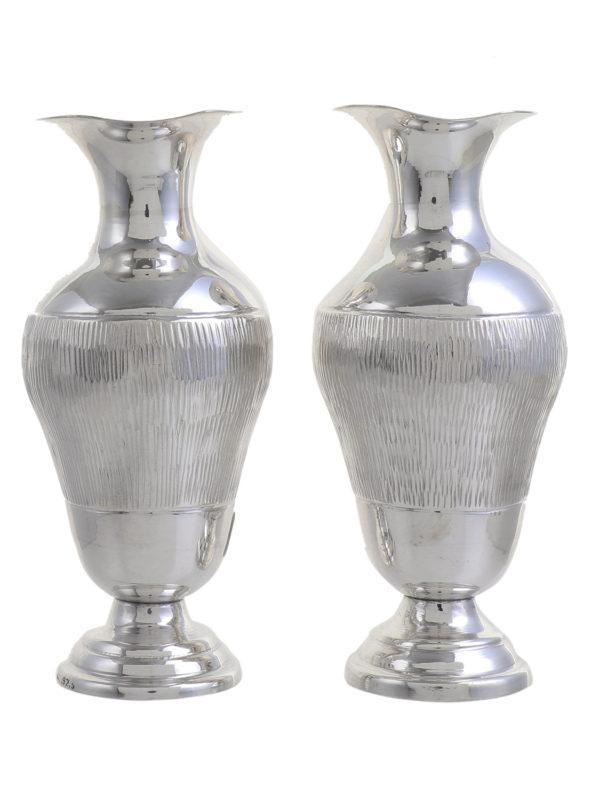 Silver Flower Vase 10