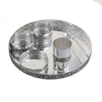 Silver home decor items