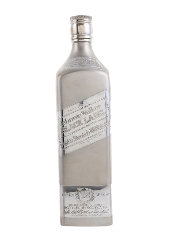 Silver Whisky Bottle 2