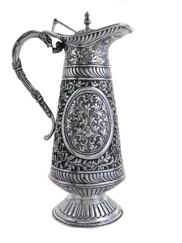 Antique Designer Silver Jug 1