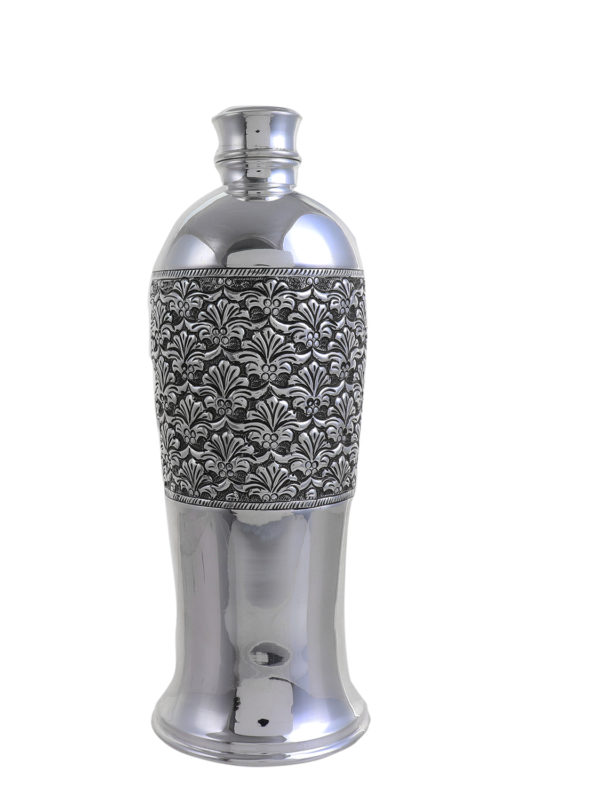 Silver Water Bottle 1