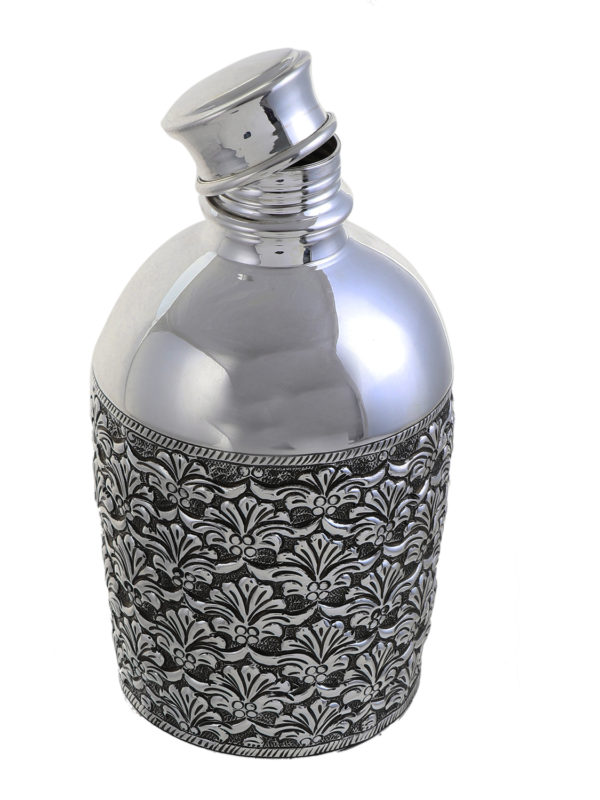 Sterling Silver Engraved Water Bottle 3