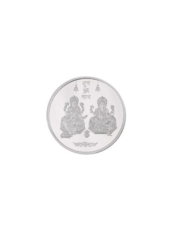 5g 999 Silver Coin Lakshmi Ganesha 11