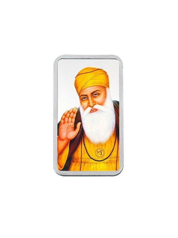 20g (999) Silver Colour Bar - Gurunanak Dev 5