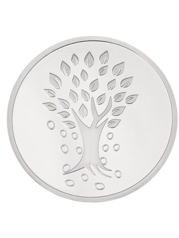 10g 999 Silver Coin Kalpataru Tree (Round) 2