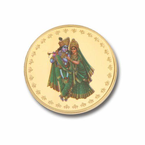 Radha Krishna Coin