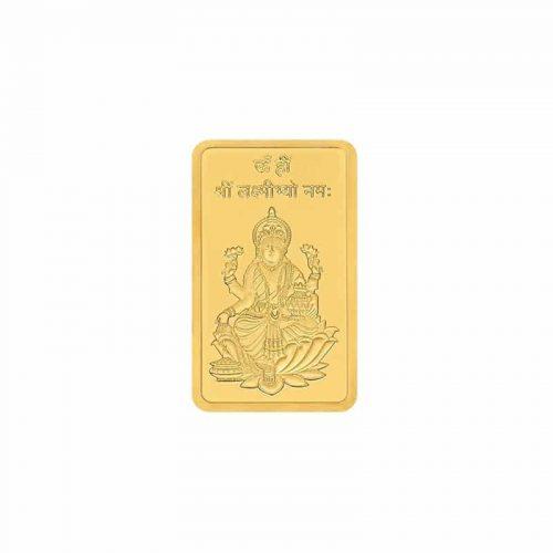 10g Gold Bar 24kt (999.9) - Lakshmi