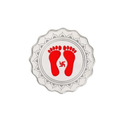 lakshmi feet coin
