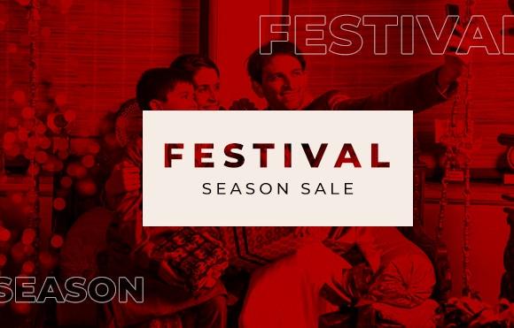 festival season sale