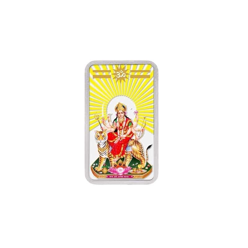 Silver Colour Bar - Durga Mata
