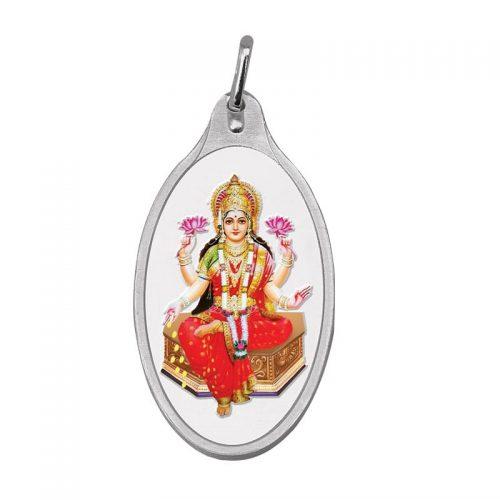 Lakshmi Silver Colour Pendant